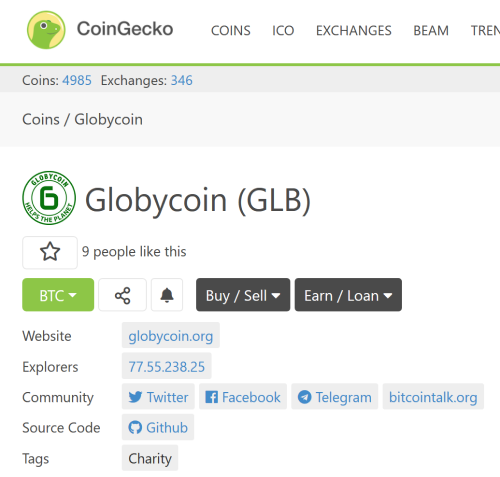 globycoin rank