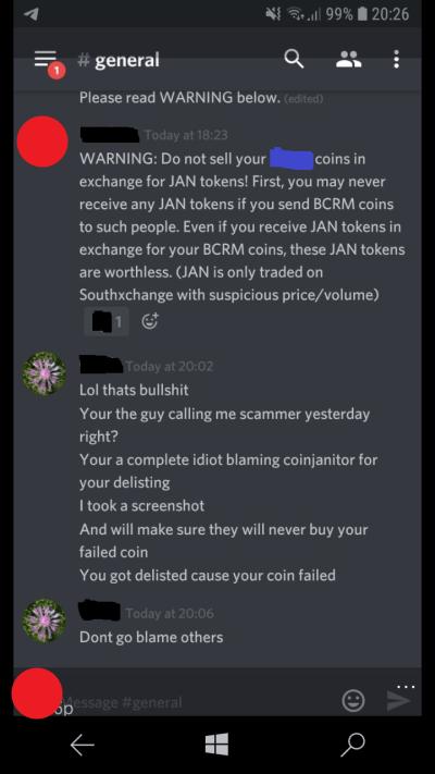 deadcoins false info