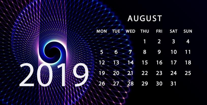 Update August 2019